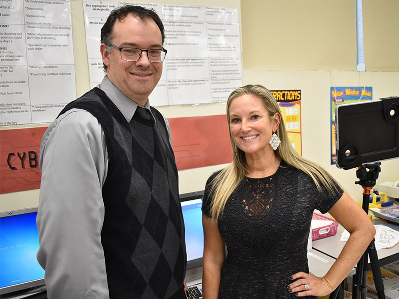 Park Avenue Pair Brighten Learning With Technology