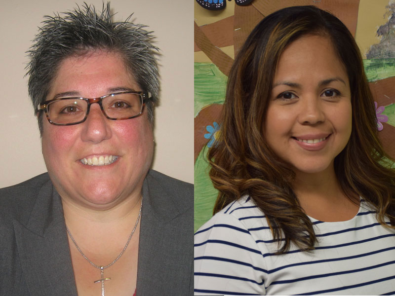 District Welcomes Pair of Administrators