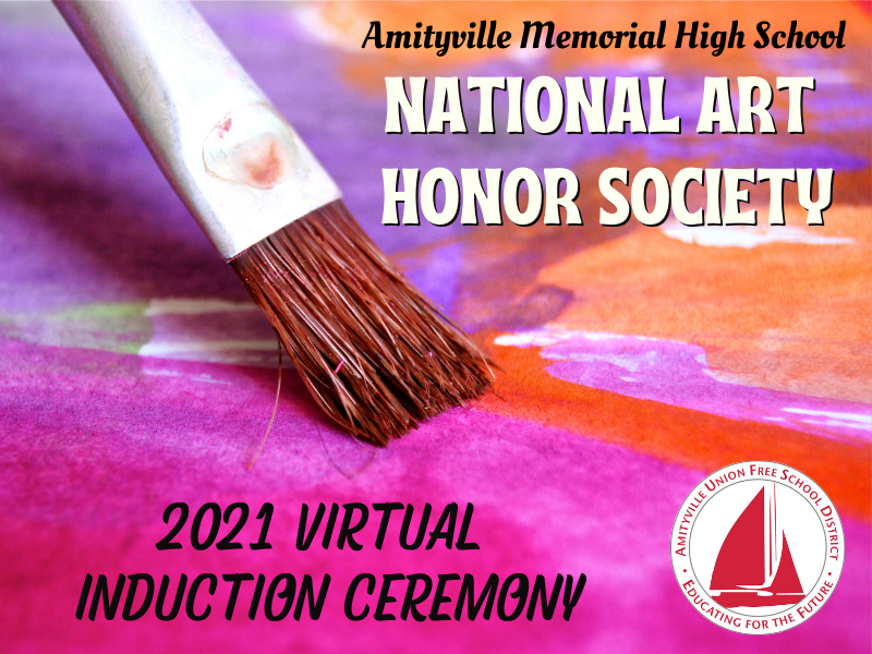 Virtual National Art Honor Society Induction