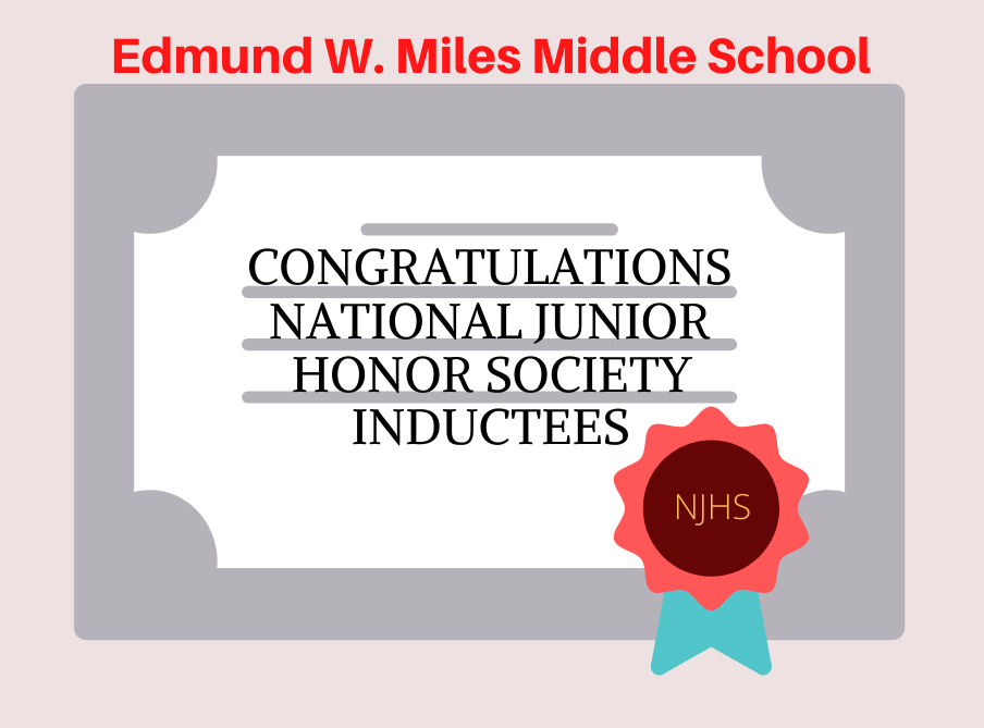 Middle School Honor Society Inductees Exemplify Scholarship and Character