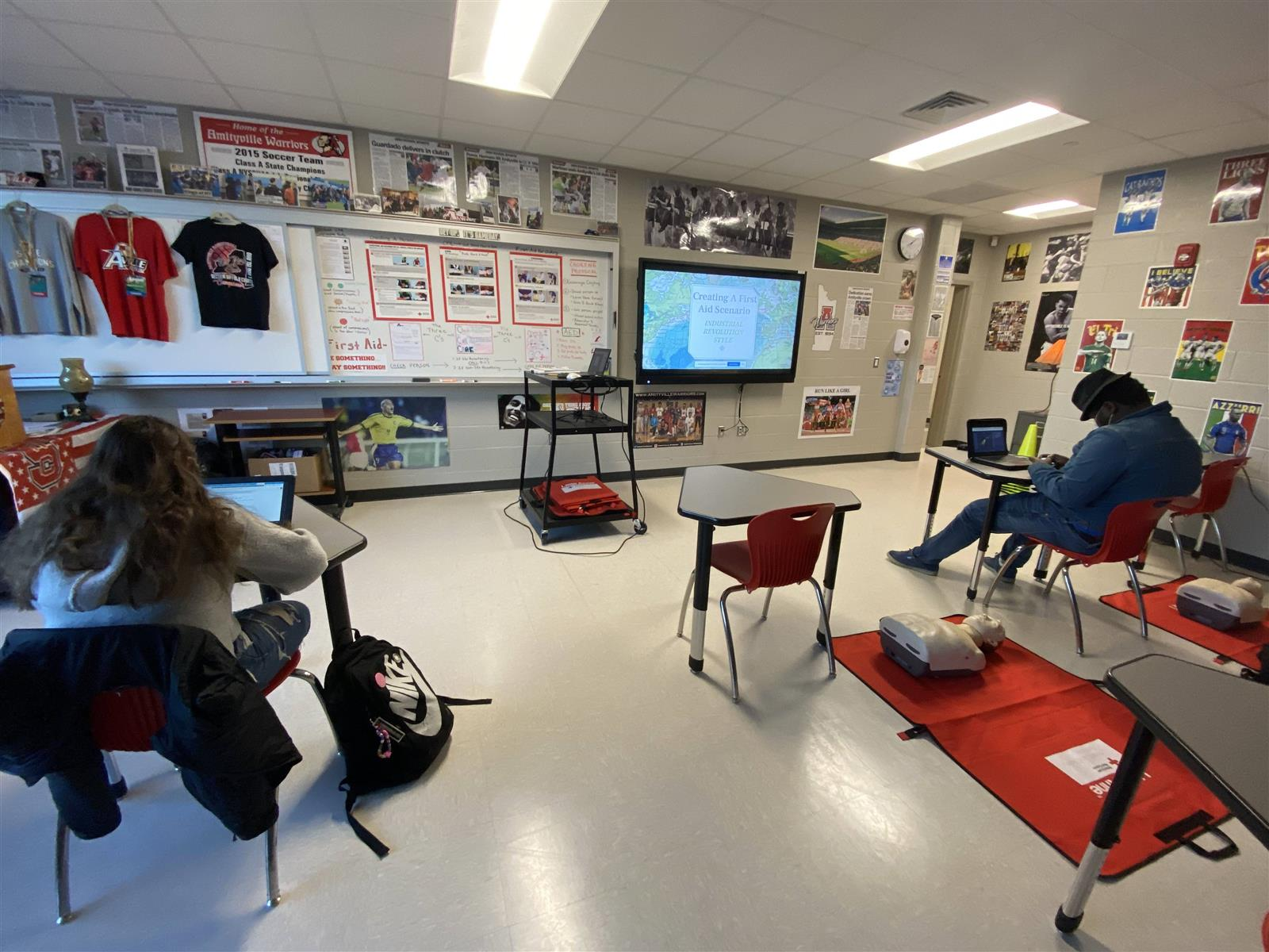 Melding History and Health at Amityville Memorial High School