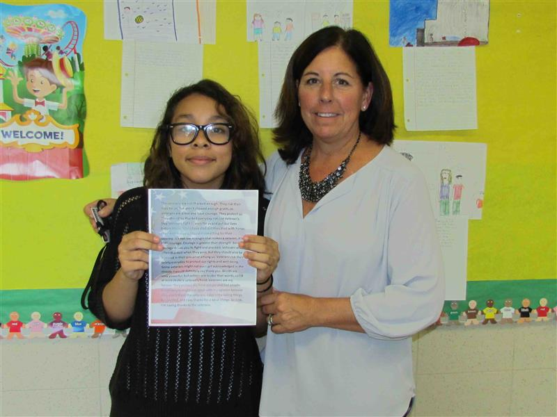Two PAMES Students Win Babylon Town Essay Contest