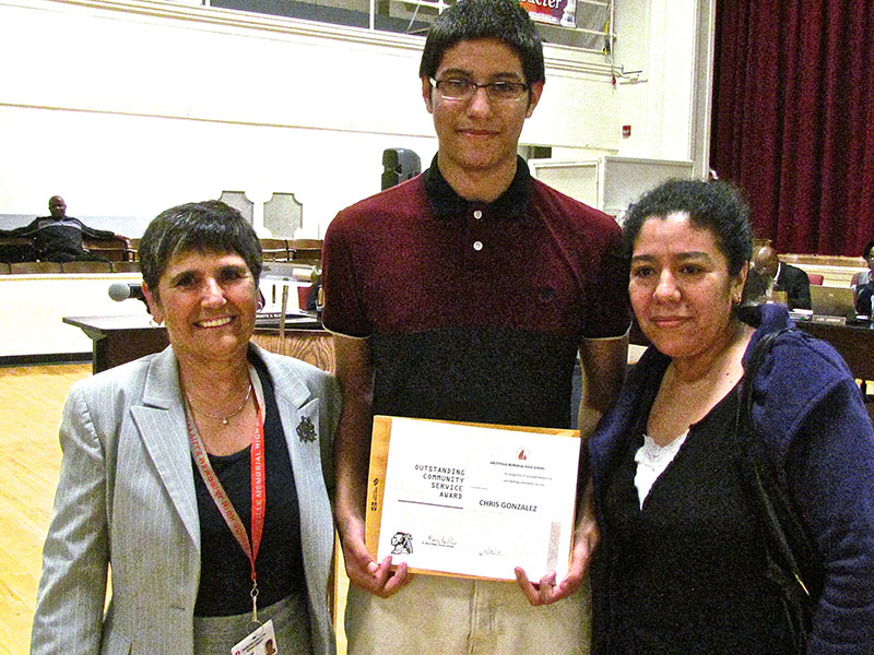 Sophomore Recognized by Town of Babylon
