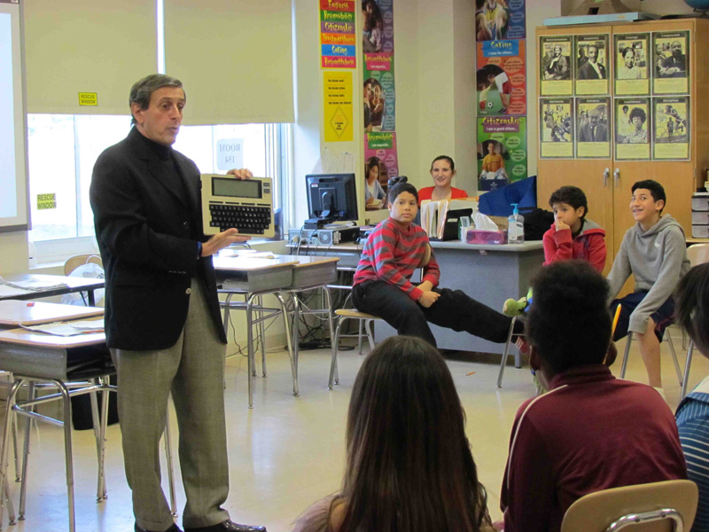 PAMES Students Peek at the Future on Career Day