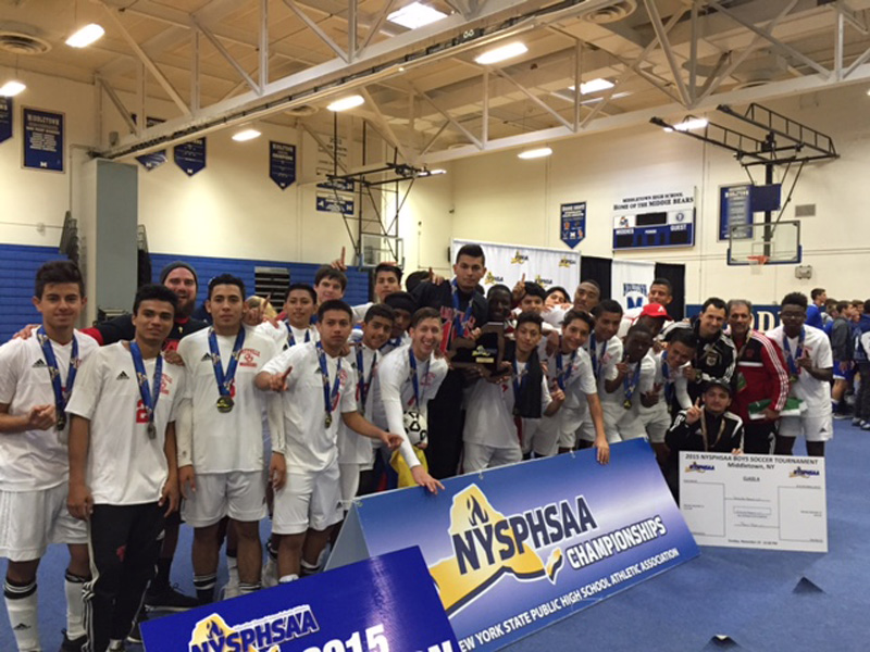Boys Varsity Soccer Team Named State Champions
