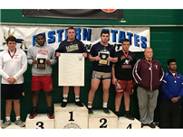 Deonte Wilson Places in Wrestling Tournament