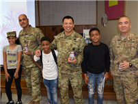 Middle School Welcomes Military Heroes photo