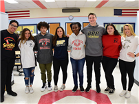 High School Students Make a Cross County Connection photo